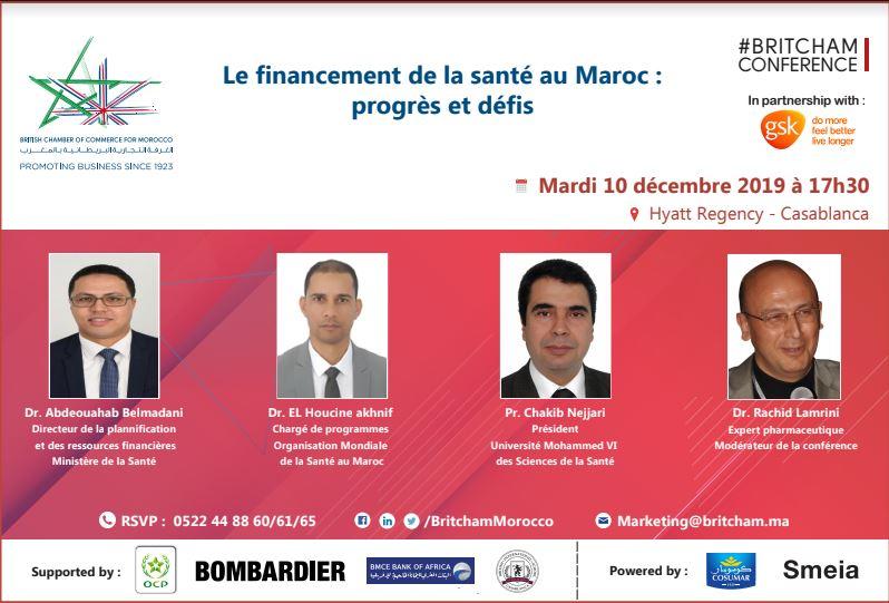 Brictham: financement de la santé au Maroc : progrès et défis