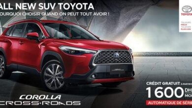 Photo of TOYOTA DU MAROC SORT LE NOUVEAU « COROLLA CROSS ROADS » !